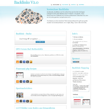 Backlinks V2.0