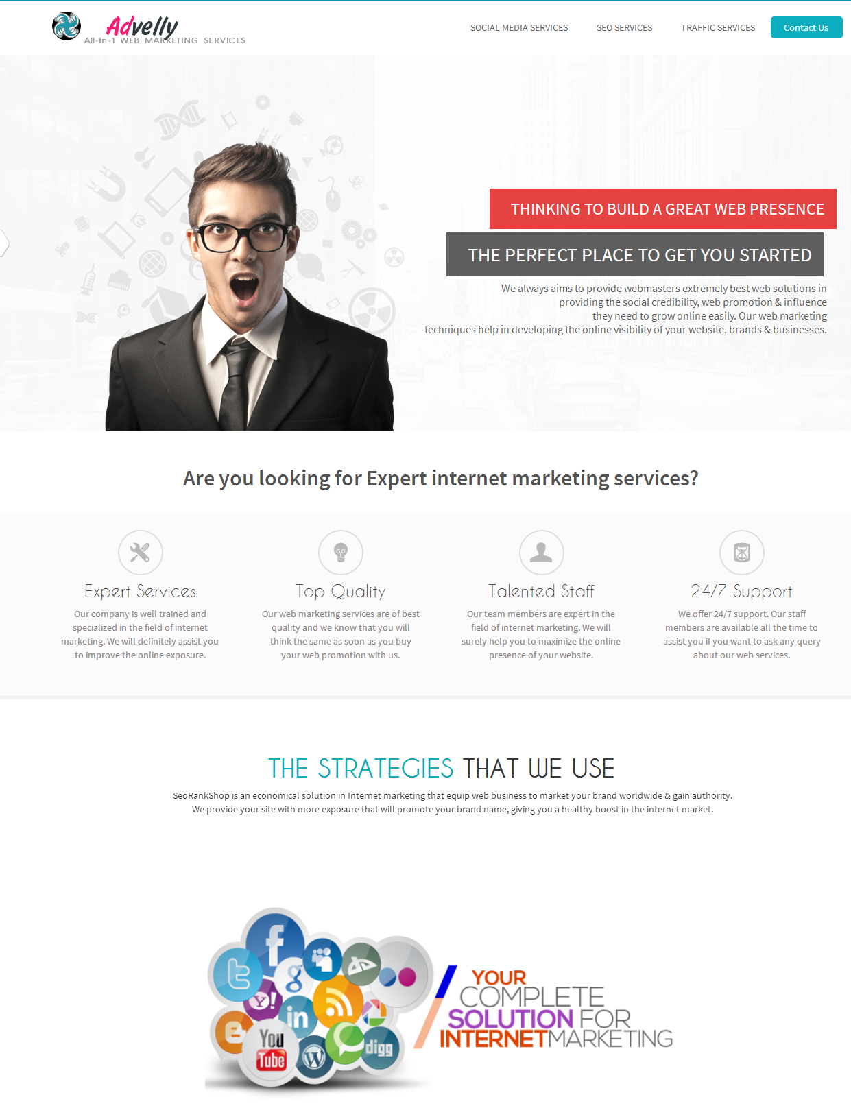 All in One Web Marketing Service