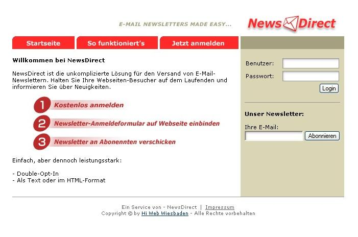 Newsletter Hoster